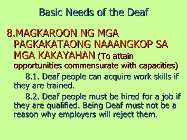hearing impaired job opportunities