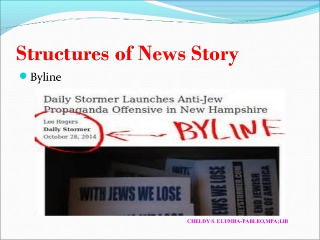 how to write a news report youtube basics