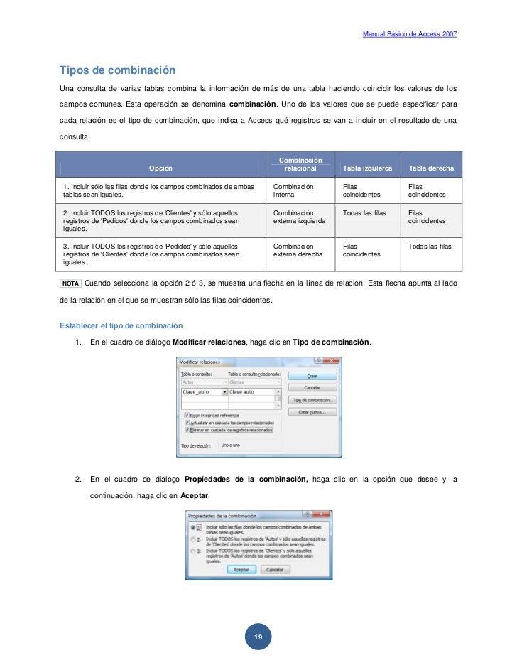Microsoft Access Manual Pdf