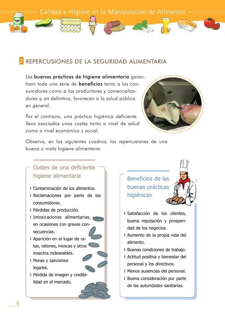 Manual higiene y manipulaci n de alimentos1 for Manual de buenas practicas de higiene y manipulacion de alimentos