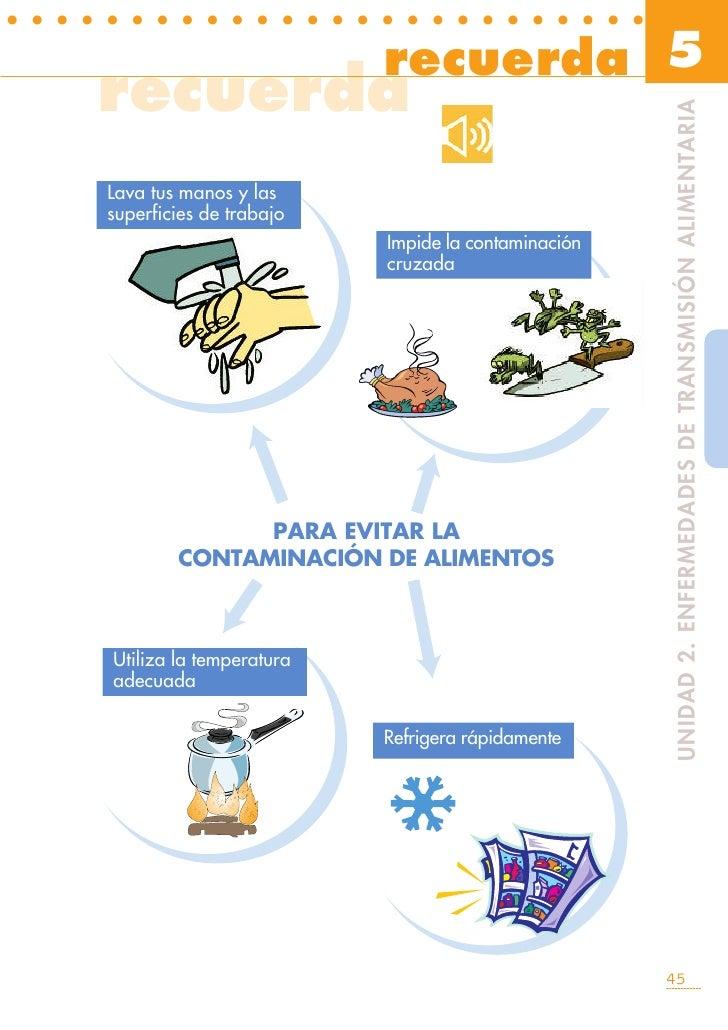 Higiene en la preparacion de los alimentos for Higiene y manipulacion de alimentos pdf