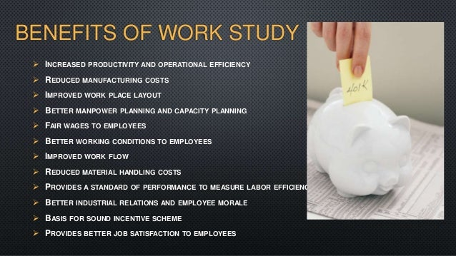 Benefit of job design