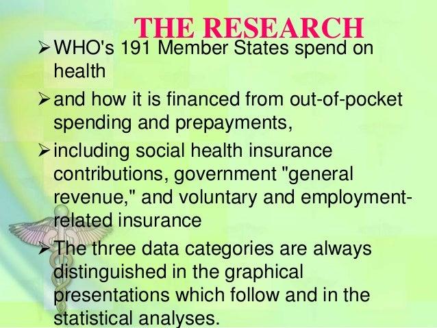 Basic patterns in national health expenditure Slide 2