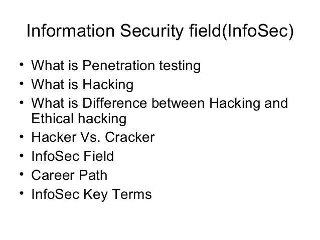 Penetration testing career