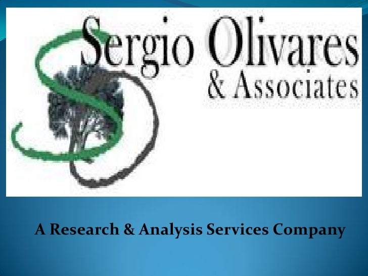 A Research & Analysis Services Company