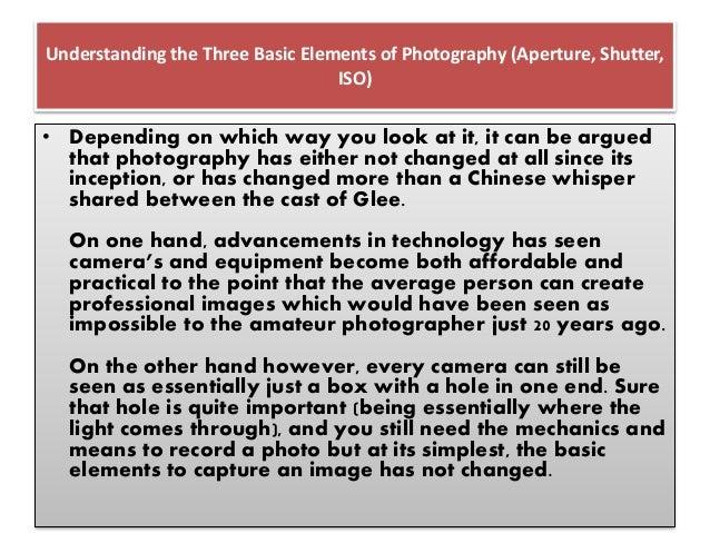 Basic Photography Slide 3