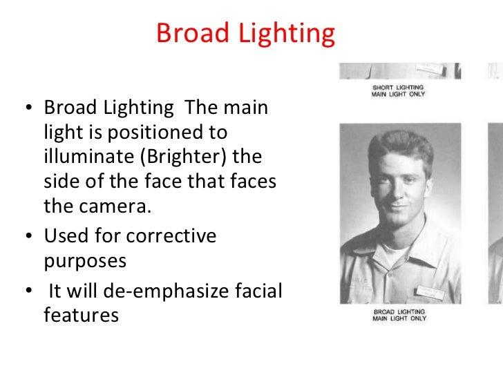 ... 4. Broad Lighting ...  sc 1 st  SlideShare & Basic photography lighting azcodes.com