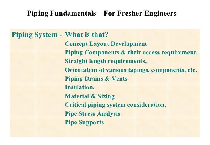 piping stress analysis basics pdf