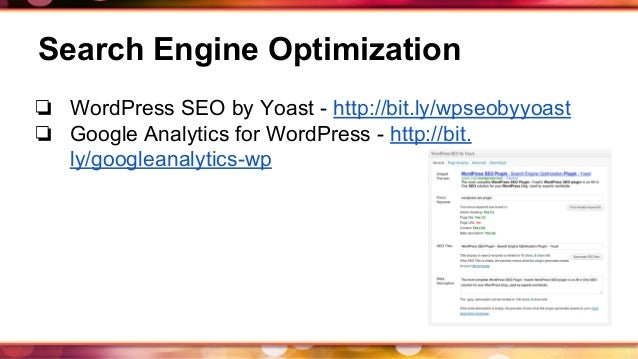 Basic Plugin Recommendations to get your WordPress Website Started slideshare - 웹