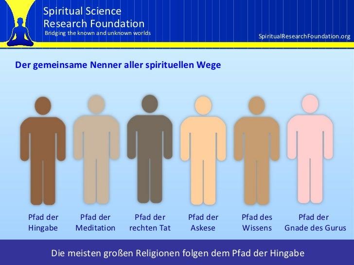 Einführung in die Grundprinzipien der Spirituellen Praxis und das erste Prinzip Slide 3