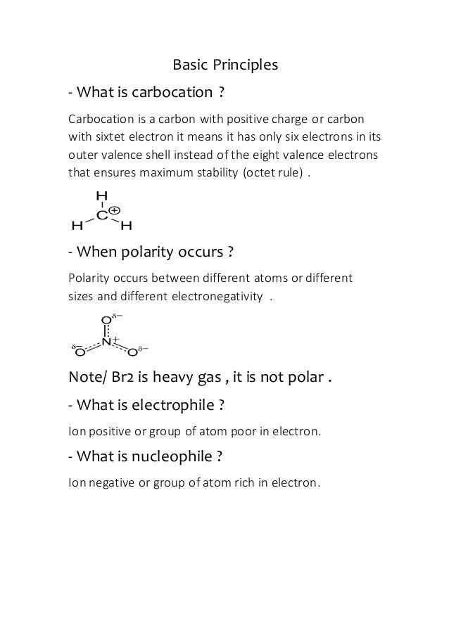 basic chemistry questions