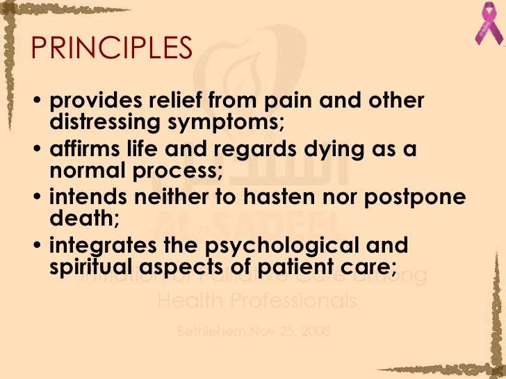 Basic Principles In Palliative Care For Ca Pt