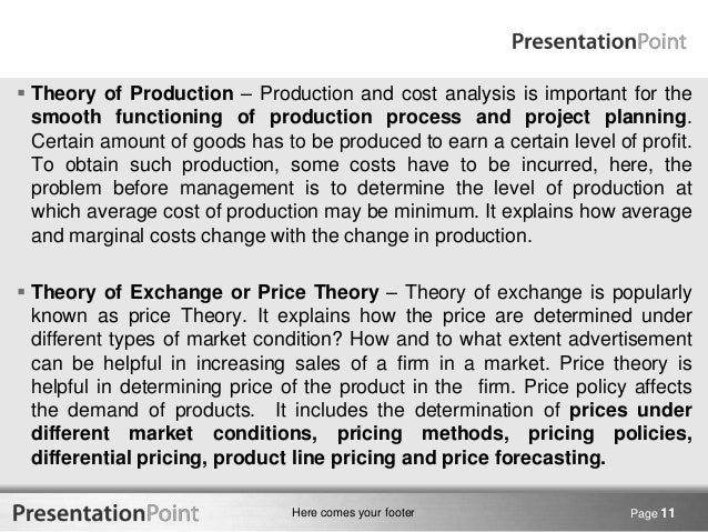 application of managerial economics in business