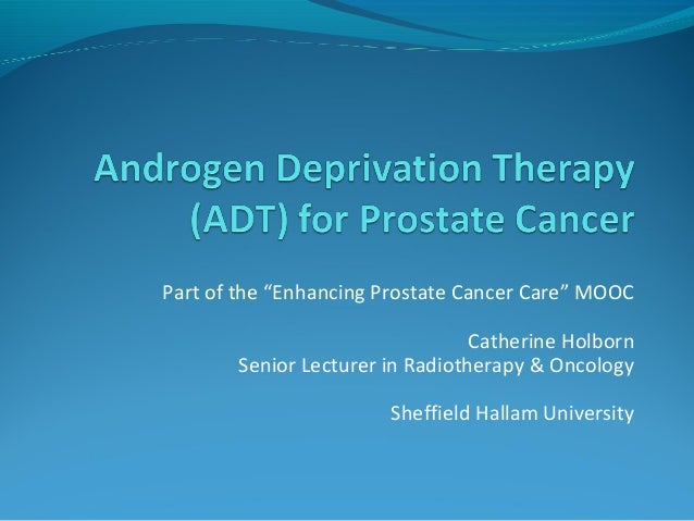 """Part of the """"Enhancing Prostate Cancer Care"""" MOOC  Catherine Holborn  Senior Lecturer in Radiotherapy & Oncology  Sheffiel..."""