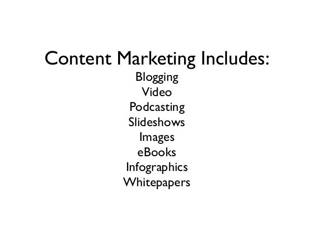 The Basic Principles of Content Marketing and SEO to