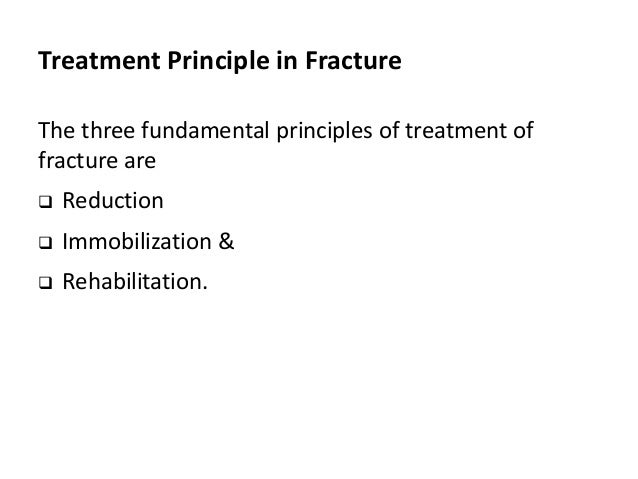 Basic Principles of Fracture Management