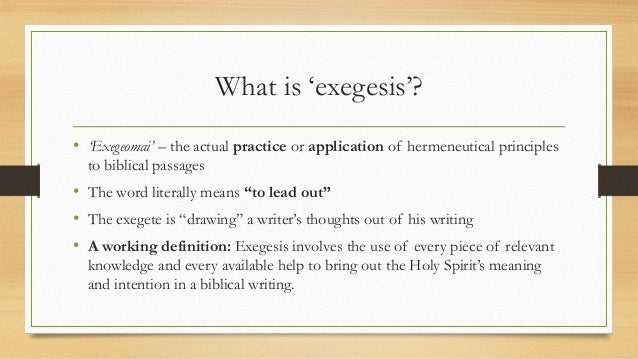 Action essay from hermeneutics in text
