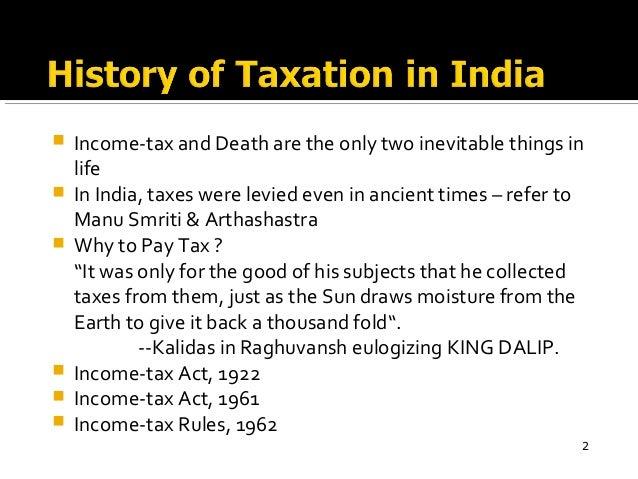 Income Tax Act 1961 India Pdf