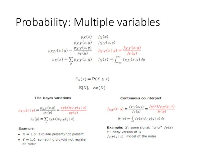 Probability: Multiple variables