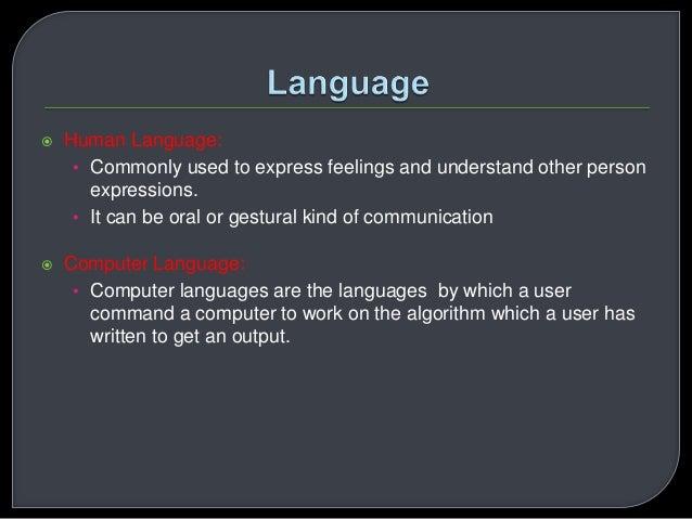 Basic programming concepts