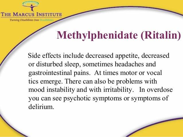Ritalin side effects | Cantech