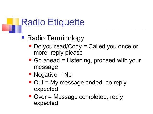 Basic radio training v2