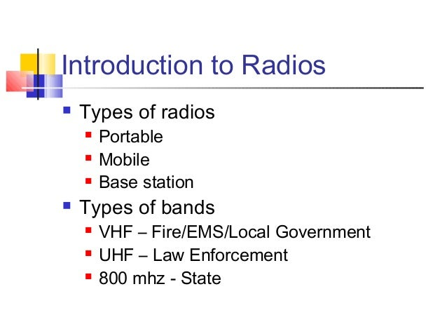 Basic radio training v2