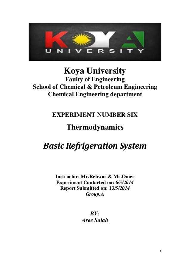 Learn basic refrigeration systems