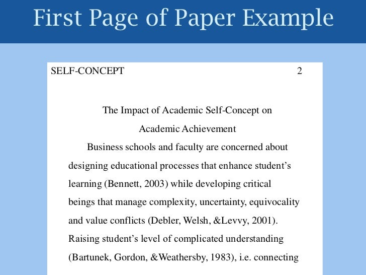 Custom Writing at 10 sample business paper in apa format