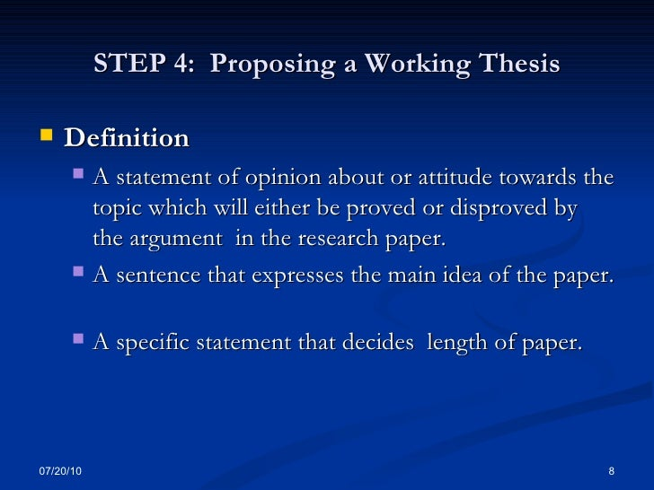 construct a working thesis statement Working thesis does the thesis statement incorporate your opinion creating a thesis construct a thesis statement statement -avoid a common mistake that students construct a thesis statement make when trying to construct a thesis statement by buy college application essay keystone help me construct a thesis statement.