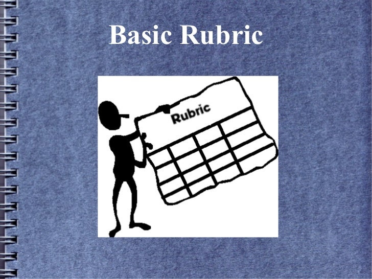 Basic Rubric