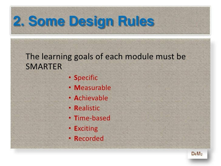 2. Some Design Rules<br />Each lesson must be no longer <br />than 10-minutes.<br />(That is the maximum length of time th...