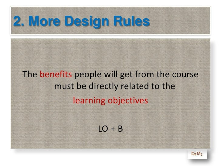 """2. Great Design<br />    """"Great design for adult learning is like building a beautiful and strong web … it starts as a sim..."""