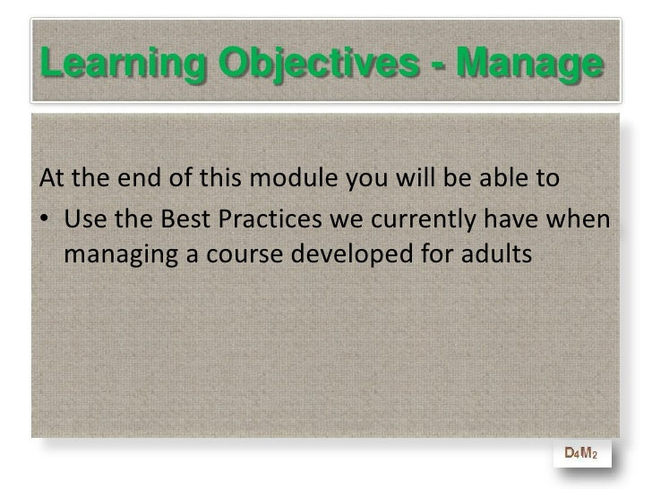 """4. Deliver the 4 """"C's""""<br />   The program should be more than just a single program … learning is a process … it requires..."""