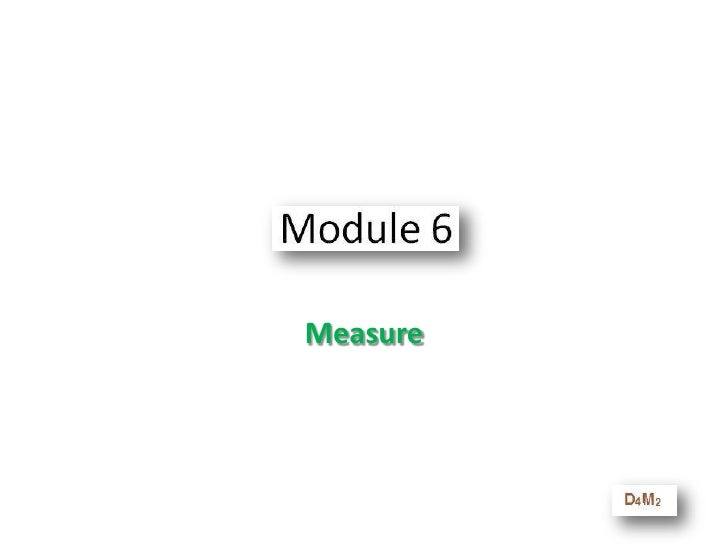 Learning Objectives - Manage<br />At the end of this module you will be able to<br />Use the Best Practices we currently h...