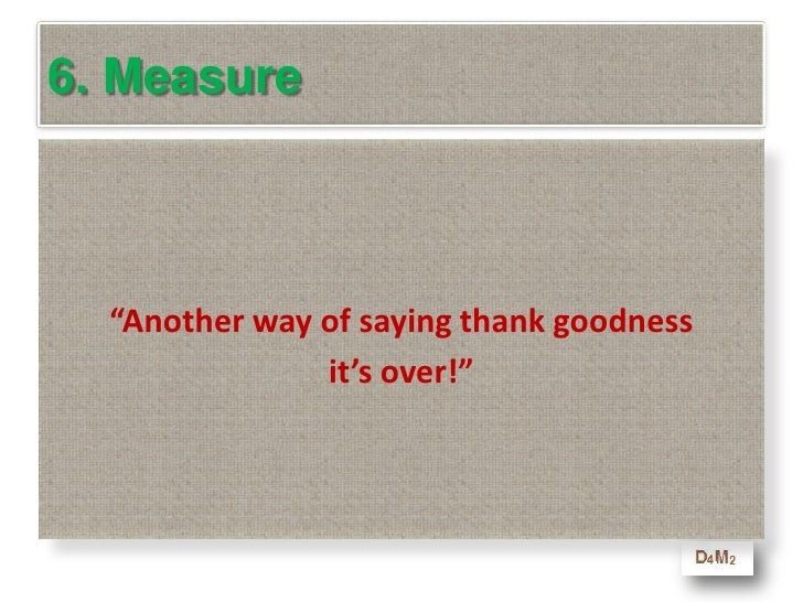 6. Measure<br />Which of the follow sentences are <br />not a good measure of a course for adults<br />