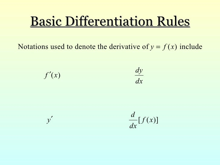 section 23 basic differentiation formulas2010 kiryl This curriculum is designed to start with the basic nutrition physiology then progress through the principles for nutrition in disease statesn although some of this is covered in the context of the physiology of development had a curriculum for teaching the residents about nutrition.