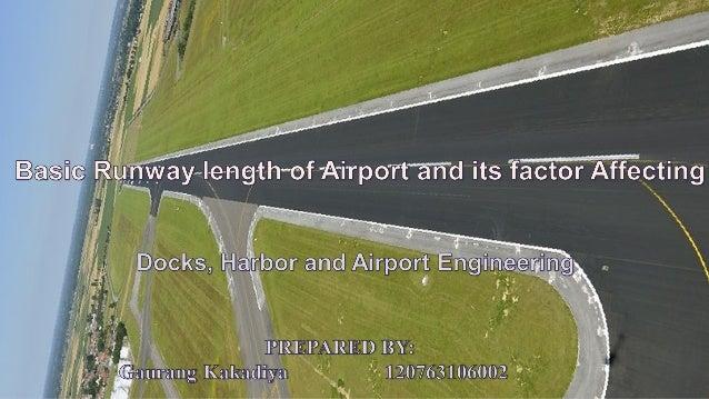 Basic runway length