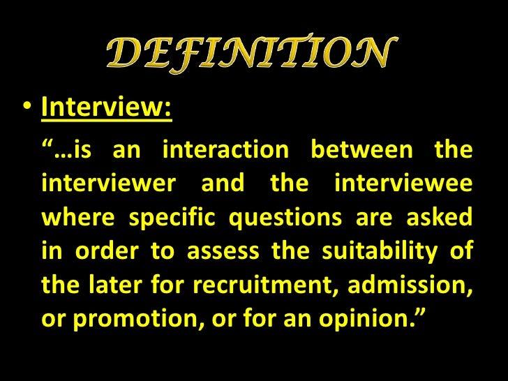 Basics  of-interview Slide 2