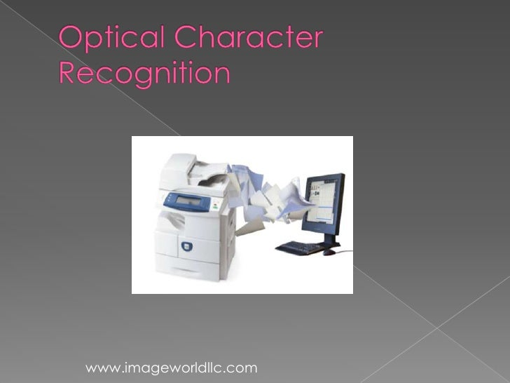 Basics of-optical-character-recognition