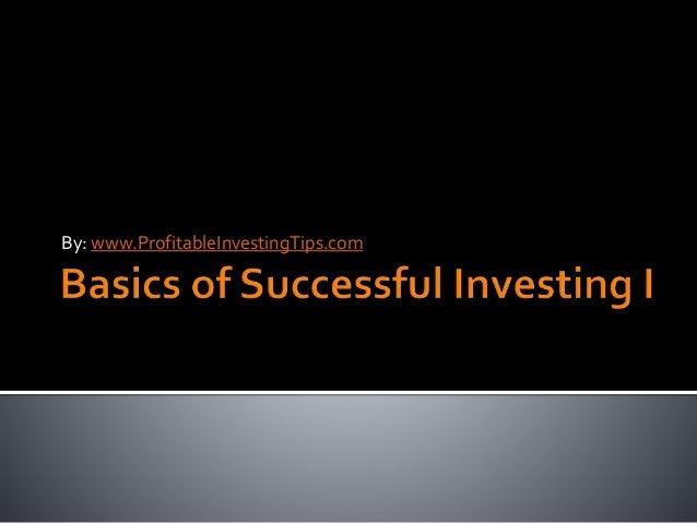 By: www.ProfitableInvestingTips.com