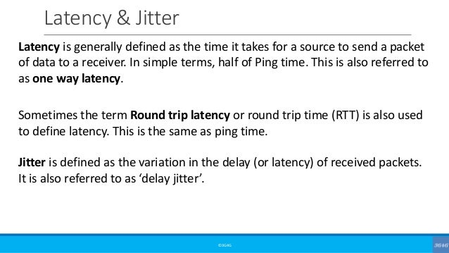 Beginners: Bandwidth, Throughput, Latency & Jitter in mobile