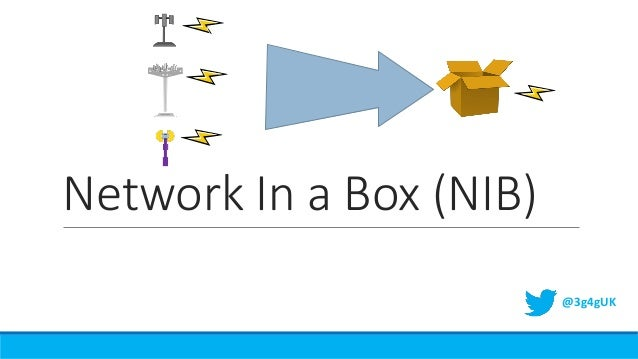 Network In a Box (NIB) @3g4gUK