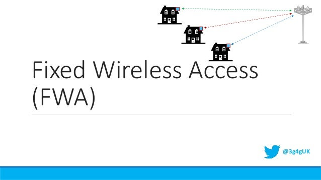 Beginners: Fixed Wireless Access (FWA)