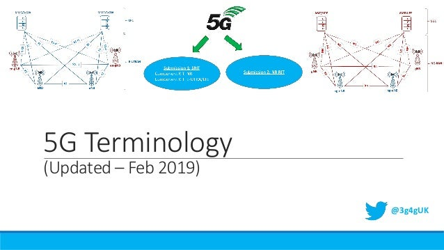 5G Terminology (Updated – Feb 2019) @3g4gUK