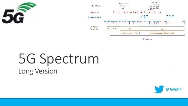 5G Spectrum Long Version @3g4gUK