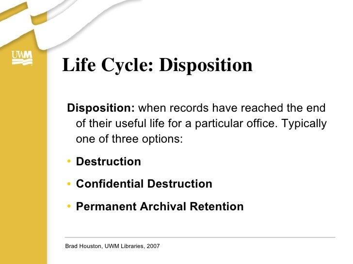 The Basics Of Uwm Records Management