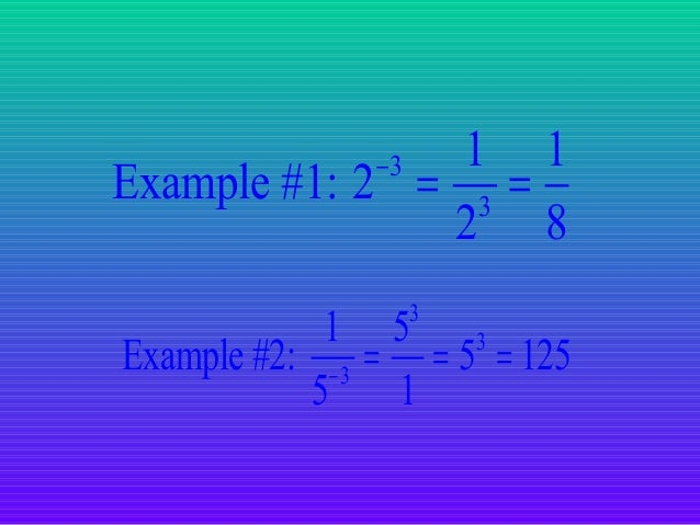 references Maslijr, 2013, Laws of exponents, viewed 05 March 2014, from http://www.slideshare.net/masljr/laws-of-exponents...
