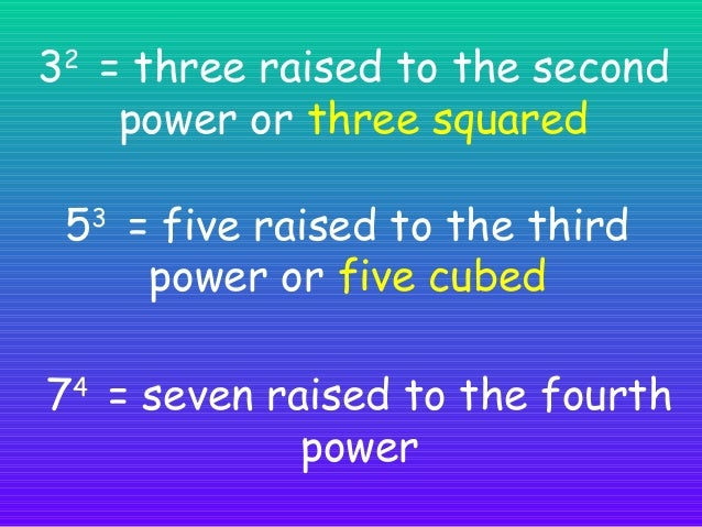 What does an exponent mean? We will use an example of how the secret spread fast to explain what does an exponent mean.