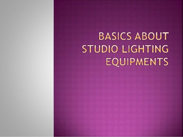 Every expert picture taker looks for studio lighting that is high calibre requiring little to ... & Basics about studio lighting equipments azcodes.com